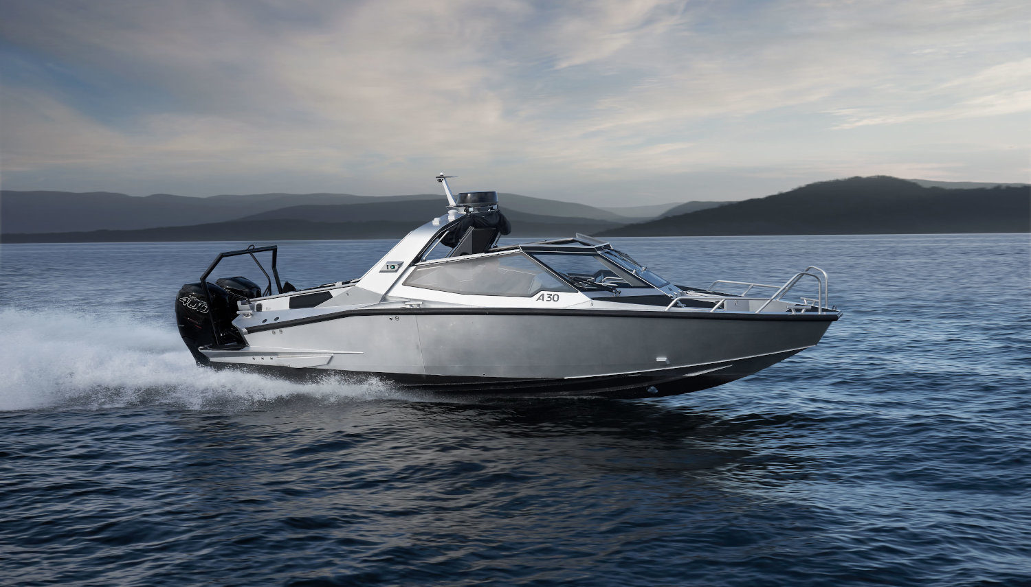 Vripack - A30 - Commuter boat - Collaboration Anytec