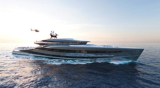 Vripack - Futura - fossil-free 61m superyacht concept